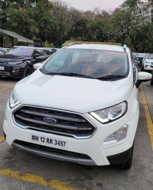 Used 2019 EcoSport 1.5 Petrol Titanium  for sale in Pune