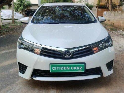 Used 2014 Corolla Altis  for sale in Bangalore