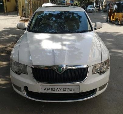 Used 2011 Superb Elegance 2.0 TDI CR AT  for sale in Hyderabad