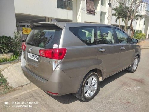 Used 2019 Innova Crysta 2.4 ZX MT  for sale in Hyderabad