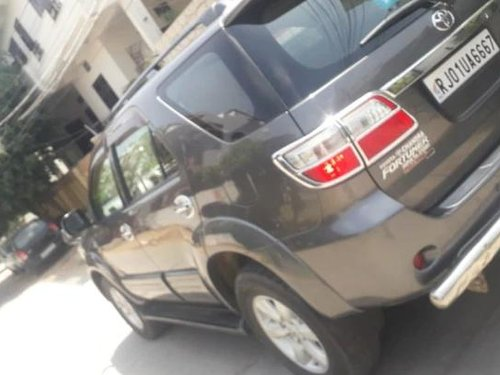 Used 2013 Fortuner 4x4 MT  for sale in Jaipur