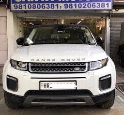 Used 2018 Range Rover Evoque 2.0 TD4 SE  for sale in New Delhi