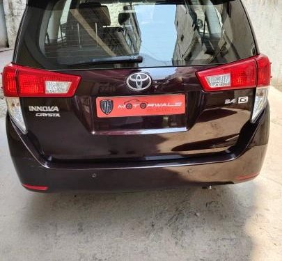 Used 2019 Innova Crysta 2.4 G MT  for sale in Hyderabad