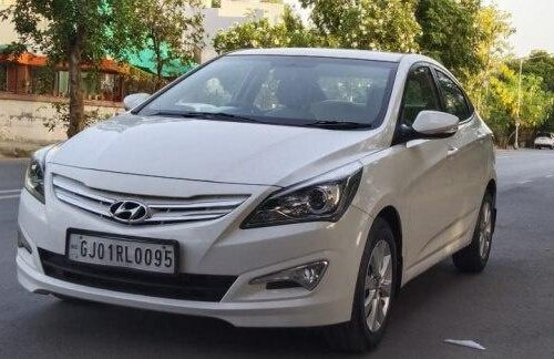 Used 2015 Verna 1.6 CRDi SX  for sale in Ahmedabad