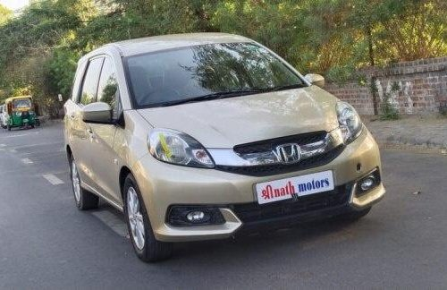 Used 2014 Mobilio V Option i-VTEC  for sale in Ahmedabad