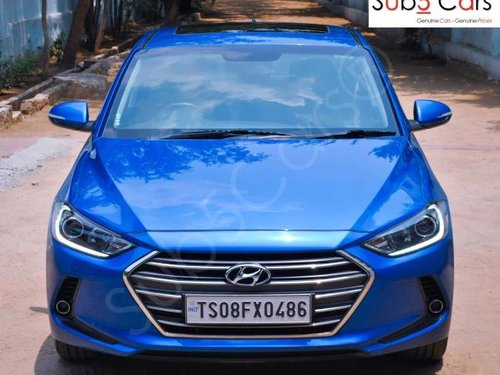 Used 2018 Elantra 2.0 SX Option AT  for sale in Hyderabad
