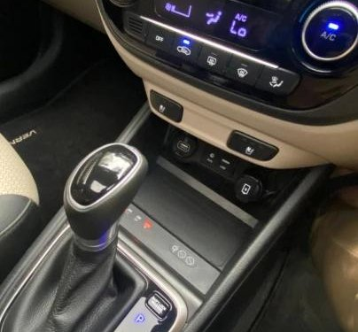 Used 2020 Verna SX Opt AT Diesel  for sale in Chennai
