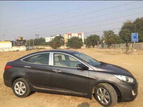 Used 2012 Hyundai Fluidic Verna low price