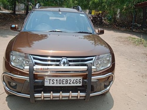Used 2014 Duster 85PS Diesel RxL  for sale in Hyderabad