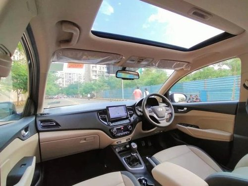 Used 2021 Verna SX Opt Diesel  for sale in Thane