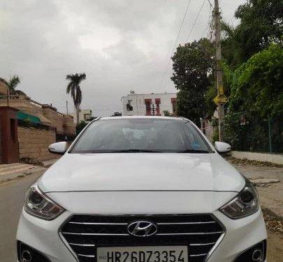 Used 2019 Verna VTVT 1.6 SX Option  for sale in Gurgaon