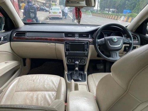 Used 2014 Superb Elegance 2.0 TDI CR AT  for sale in Mumbai