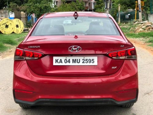 Used 2018 Verna VTVT 1.6 SX Option  for sale in Bangalore