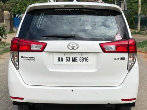 Used 2017 Innova Crysta 2.4 G MT  for sale in Bangalore