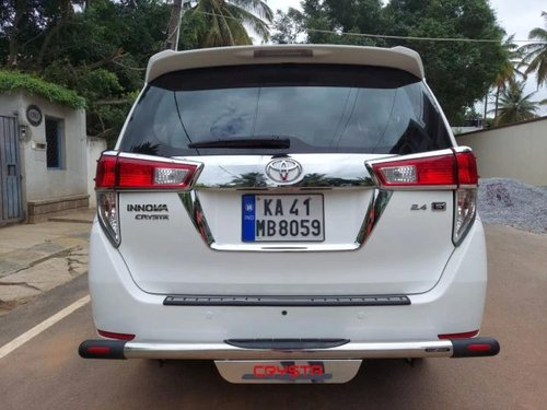 Used 2019 Innova Crysta 2.4 G Plus MT  for sale in Bangalore