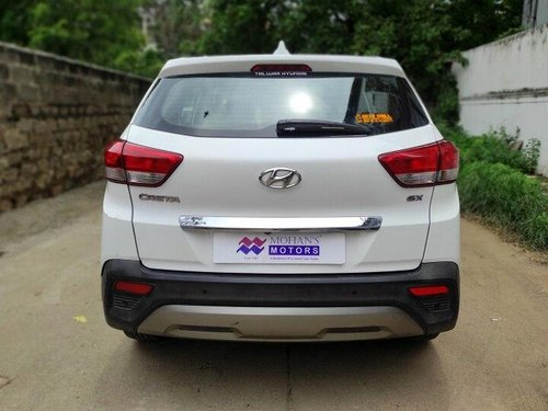Used 2018 Creta 1.6 SX Option Diesel  for sale in Hyderabad