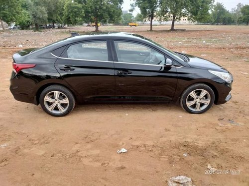 Used 2018 Verna CRDi 1.6 AT SX Option  for sale in Ahmedabad