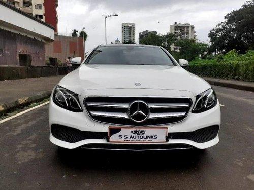 Used 2018 E Class Exclusive E 220 d  for sale in Mumbai