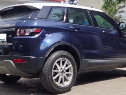 Used 2013 Range Rover Evoque 2.2L Dynamic  for sale in Coimbatore