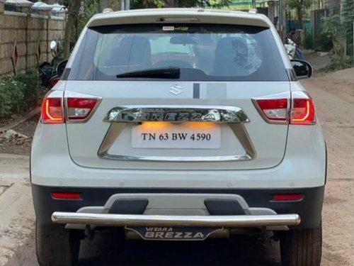 Used 2019 Vitara Brezza ZDi Plus AMT Dual Tone  for sale in Madurai