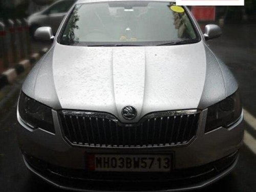 Used 2015 Superb Elegance 2.0 TDI CR AT  for sale in Mumbai