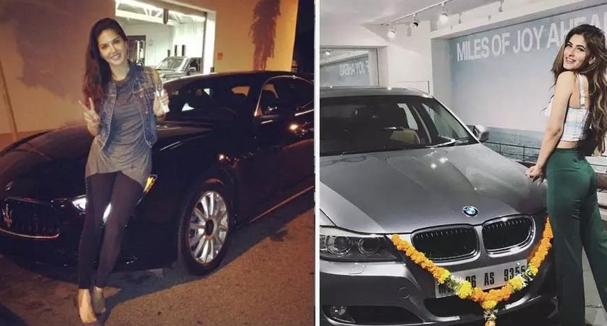 Celebrity Car Collection Bollywood Actresses Luxury