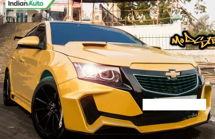 4 Amazingly Modified Chevrolet Cruze In India