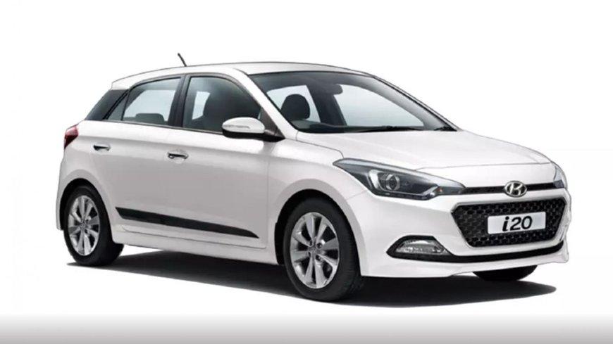 Hyundai Elite i20 2018 polar white